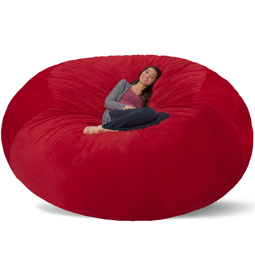 Giant bean bag chairs for adults - Giant Bean Bag Huge Bean Bag Chair Extra Large Bean Bag