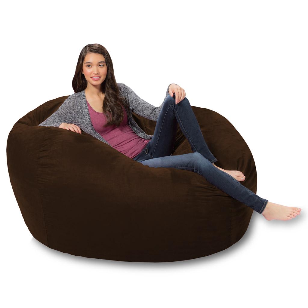 Wondrous 5 Ft Bean Bag Lounger Best 5 Foot Bean Bag Couch Theyellowbook Wood Chair Design Ideas Theyellowbookinfo