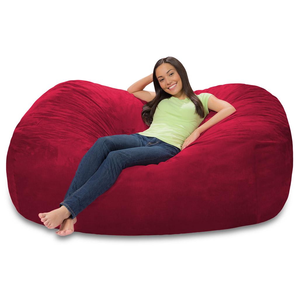 Astonishing 6 Foot Bean Bag Lounger 6 Foot Bean Bag Couch Machost Co Dining Chair Design Ideas Machostcouk