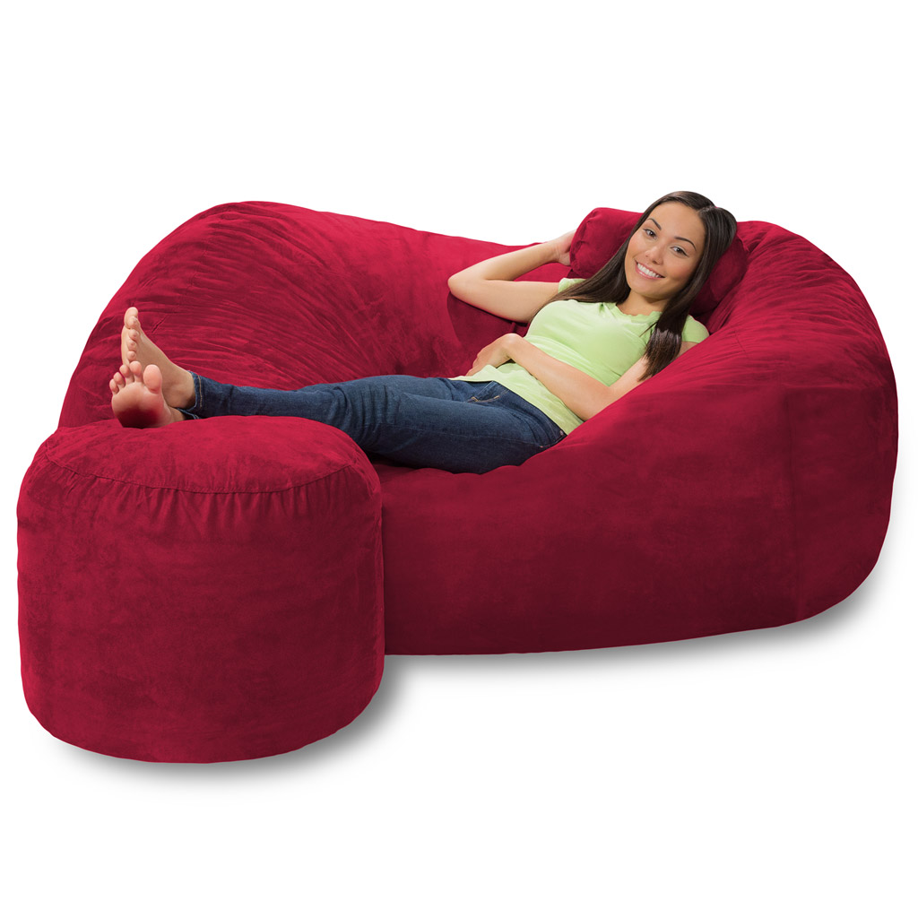 Phenomenal 6 Foot Bean Bag Lounger 6 Foot Bean Bag Couch Inzonedesignstudio Interior Chair Design Inzonedesignstudiocom