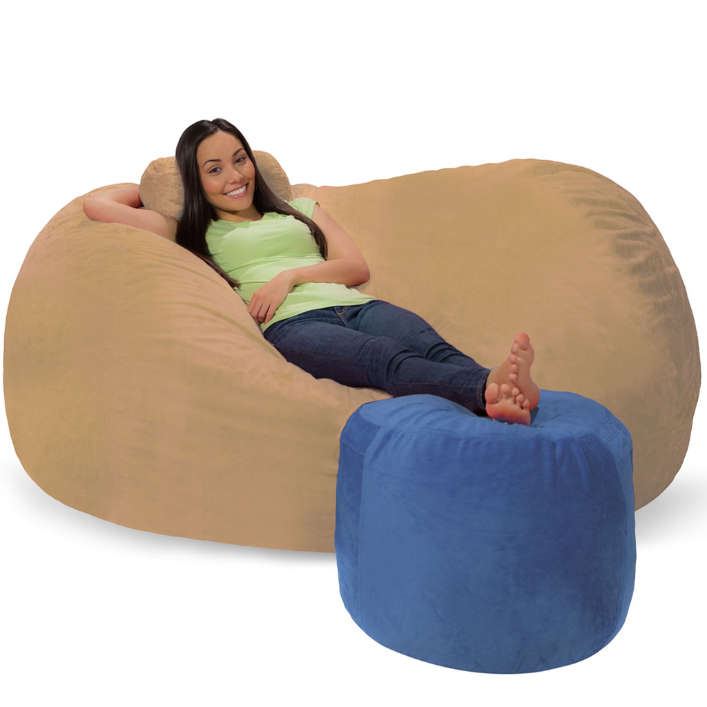 Bean Bag Ottoman Bean Bag Footrest