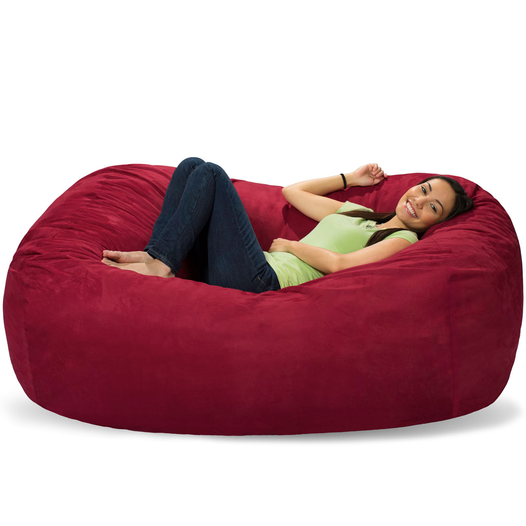 Giant bean bag chairs for adults - 6 Ft Lounger