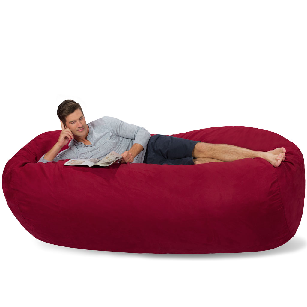 Large Bean Bag Couch 7 5 Foot Bean Bag Lounger