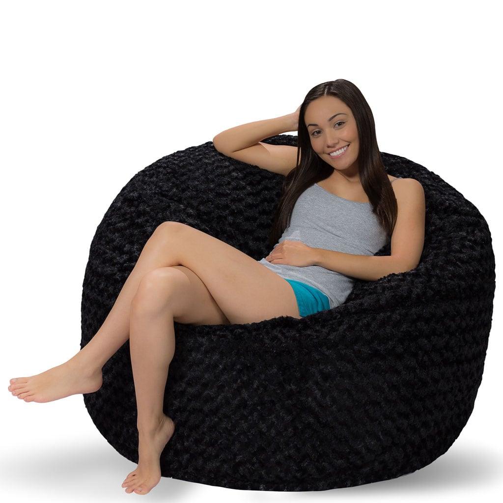 Sensational 4 Ft Bean Bag 4 Foot Bean Bag Chair Dailytribune Chair Design For Home Dailytribuneorg