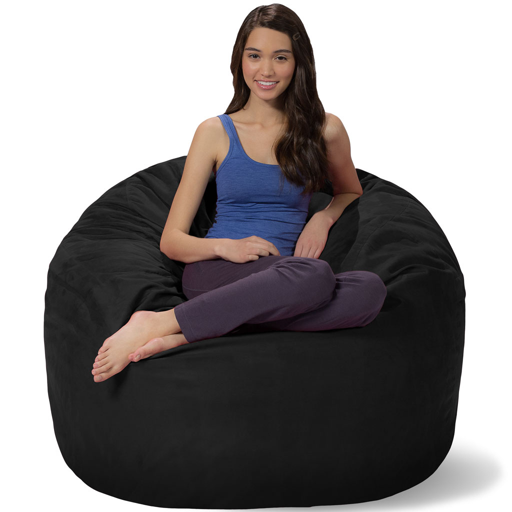 Magnificent 4 Ft Bean Bag 4 Foot Bean Bag Chair Dailytribune Chair Design For Home Dailytribuneorg