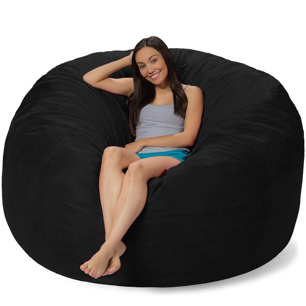 Amazing 6 Foot Bean Bag 6 Foot Bean Bag Chair Ncnpc Chair Design For Home Ncnpcorg