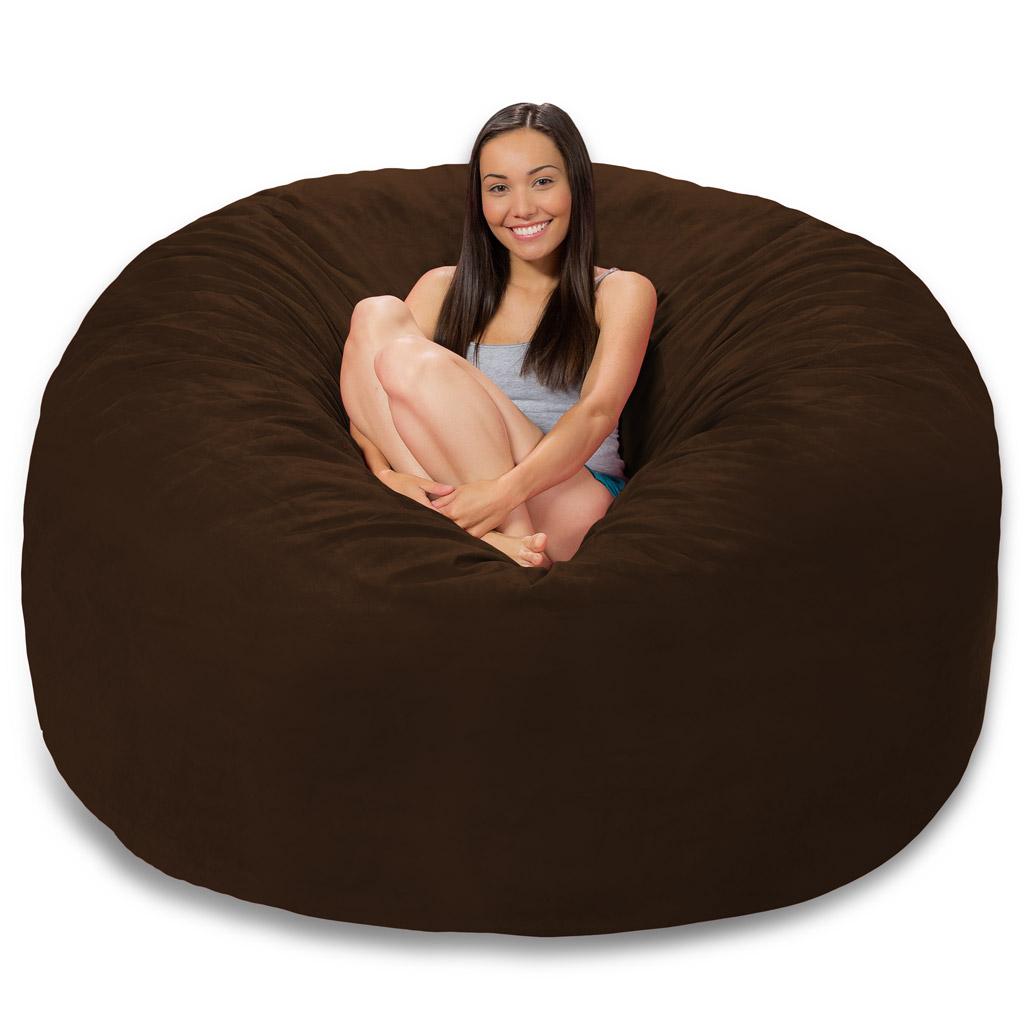 Pleasing 6 Foot Bean Bag 6 Foot Bean Bag Chair Machost Co Dining Chair Design Ideas Machostcouk