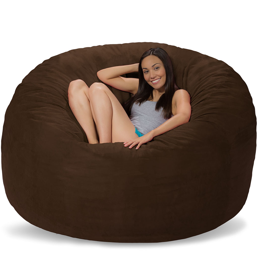 large bean bag chairs oversized bean bags get comfy with comfy sacks. Black Bedroom Furniture Sets. Home Design Ideas