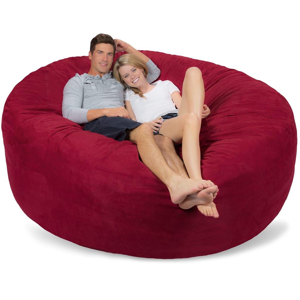 Prime Large Bean Bag Cover 7 Foot Bean Bag Cover Uwap Interior Chair Design Uwaporg