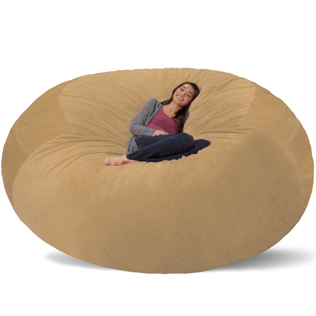 Groovy Giant Bean Bag Huge Bean Bag Chair Extra Large Bean Bag Onthecornerstone Fun Painted Chair Ideas Images Onthecornerstoneorg