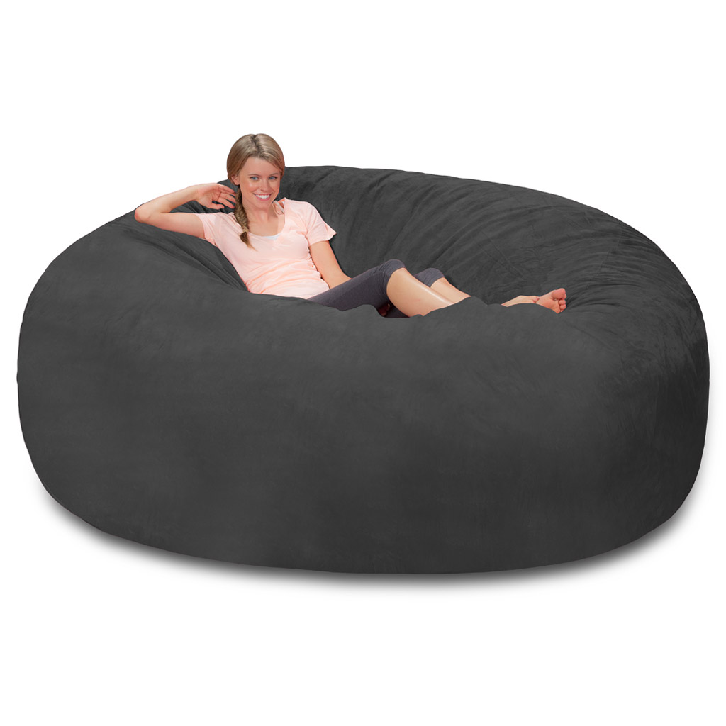 Admirable Giant Bean Bag Huge Bean Bag Chair Extra Large Bean Bag Onthecornerstone Fun Painted Chair Ideas Images Onthecornerstoneorg