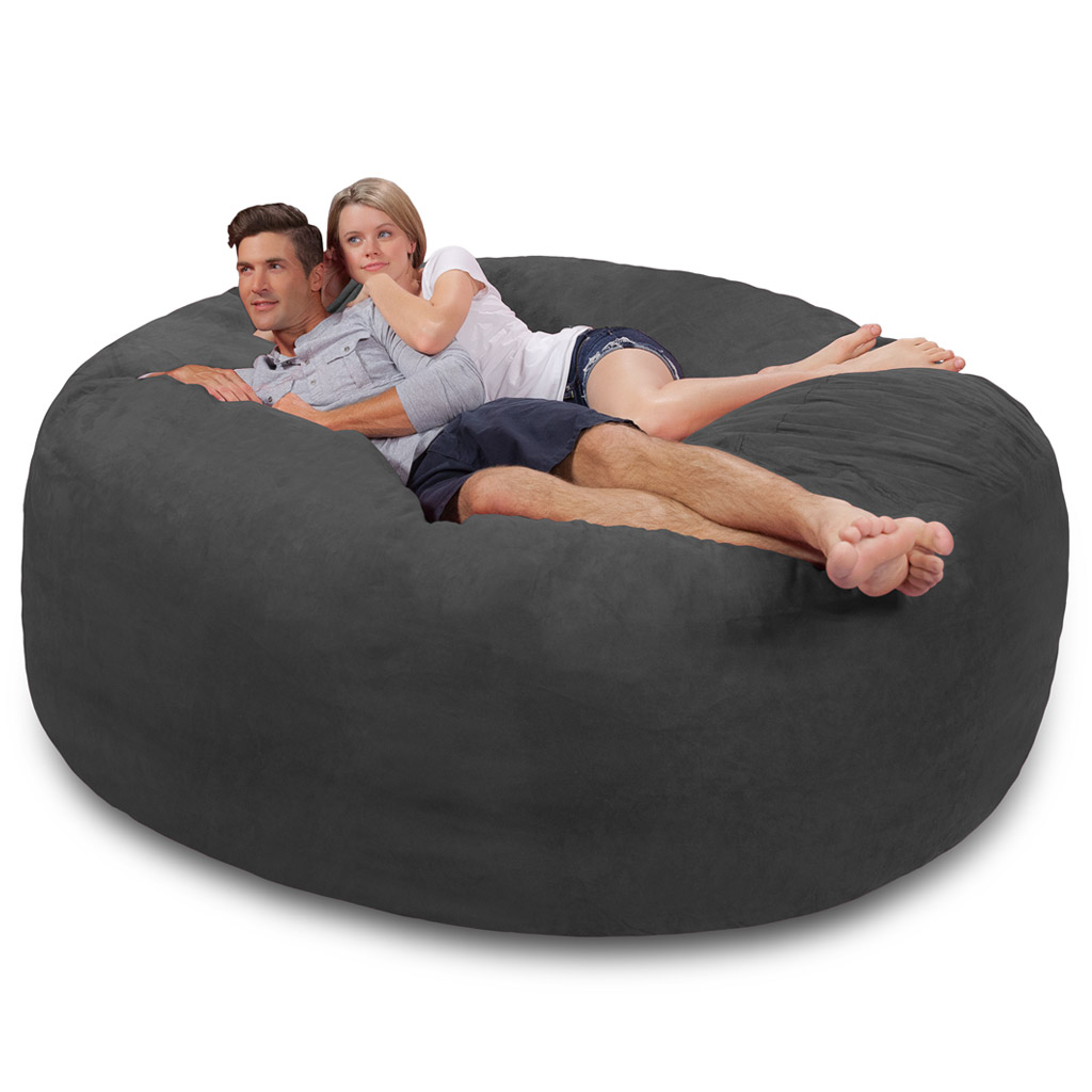 Strange Giant Bean Bag Huge Bean Bag Chair Extra Large Bean Bag Onthecornerstone Fun Painted Chair Ideas Images Onthecornerstoneorg