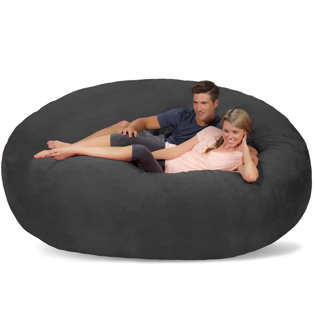 Pleasant Giant Bean Bag Huge Bean Bag Chair Extra Large Bean Bag Onthecornerstone Fun Painted Chair Ideas Images Onthecornerstoneorg